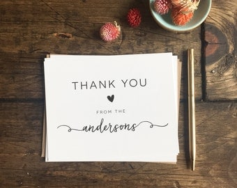 Wedding thank you cards etsy wedding thank you cards custom wedding cards wedding gift custom thank you card junglespirit Image collections