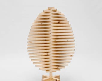 Wooden Easter Tree
