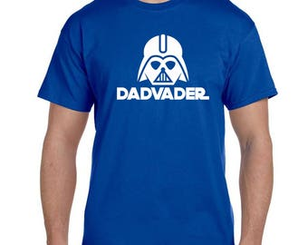 Daddy Shirt Fathers Day Gift Darth Vader Gifts For Him Dad Star Wars Darth Vader Shirt Star Wars Shirt Father's Day Blue Shirt Gift ideas