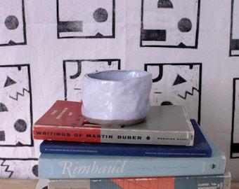 Minimalist Ceramic Pinch Pot Planter