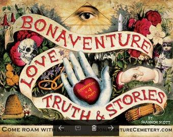 Bonaventure Cemetery: Love & Truth Poster