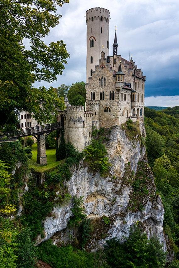 Lichtenstein Castle Black Forest Germany Photography