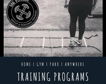 Custom 4 Week Training Plan