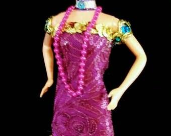 Roaring 20's Flapper - OOAK Barbie doll