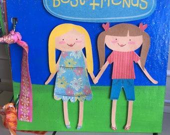 Best Friends Scrapbook Photo Album Birthday Gift Daughter Present Memory Book Leaving School Gift Premade Ready Made