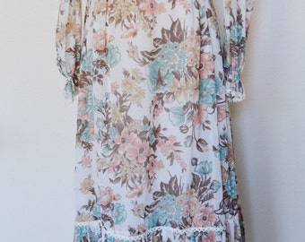 1970's The Blooming Flowers || Gunne Sax by Jessica ||