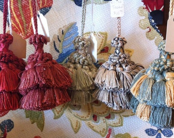 Key Tassels to Accent the Home, Choice of Color