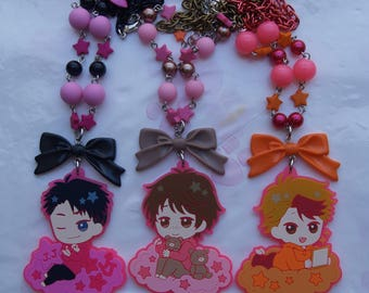 Yuri necklace! We Ice JJ Minami Guang-Hong Kawaii