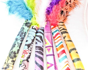 Kitty Kickers, Cat Toys, Fun Boa Tail, Catnip Kickers, Valerian Kickers, Fun Cat Toys, Best Cat Toys, Gifts for Cats, Unique Cat Toys