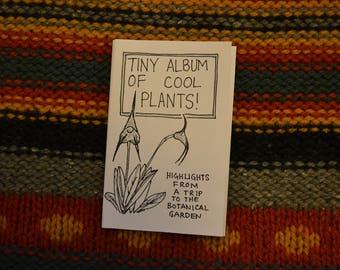Tiny Album of Cool Plants zine