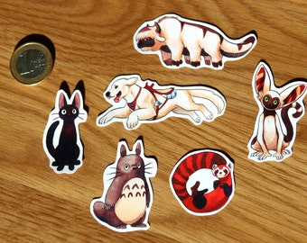 Avatar, Legend of Korra, Studio Ghibli Sticker Pack