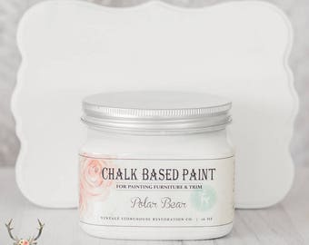 Vintage Storehouse Chalk Based Paint - Polar Bear
