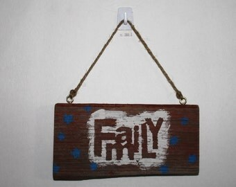 Barn wood FAMILY sign, Wall hanging, wall decor, house warming, wedding gift, rustic, reclaimed