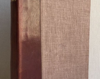 Oeuvres Completes de Victor Hugo : Hernani Librairie Charpentier et Fasquelle 1926 French Drama Leather Spine Fine-Cloth Binding Definitive