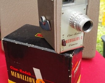 Cinema Kodak Medallion 8mm Movie Camera