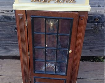 Spirit of St Louis Lighted Telephone Booth Wall Freestanding