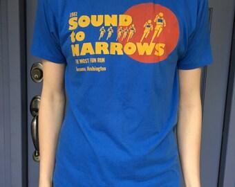 1981 Sound Narrows Fun Run Tacoma Seattle 50/50 L Large
