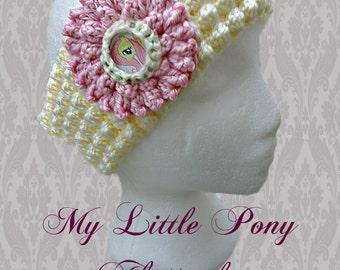 My little Pony fluttershy Headband/Earwarmer