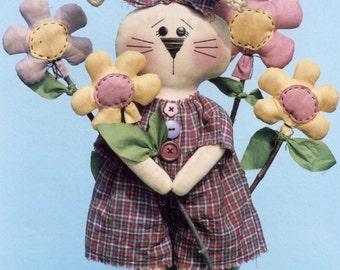 Primitive PATTERN Somebunny's Flower