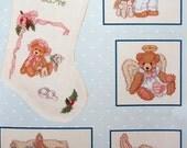 Priscilla's Babyland By Priscilla Hillman Vintage Cross Stitch Pattern Booklet 1991