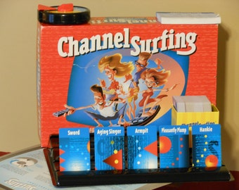 Channel Surfing: The Game That Will Change the Way You See TV. Milton Bradley. (1994)