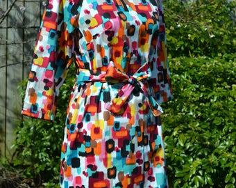 Handmade Funky Pattern Dress