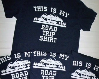 This Is My Road Trip Shirt, Family Vacation Shirts, Road Trip Shirts, Family Vacation Tees, Custom Family Shirts, Vacation Shirts, Road Trip
