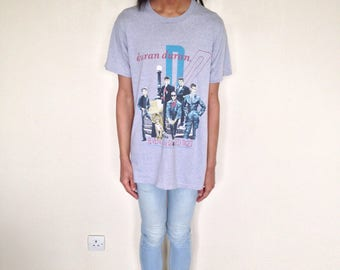 Vtg 80's DURAN DURAN Seven And The Raged Tiger 1984 Canada tour t-shirt S/M/L