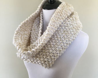 Marble Knit Cowl // Scarf // Two Color