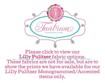Available Fabric Options- NOT FOR SALE