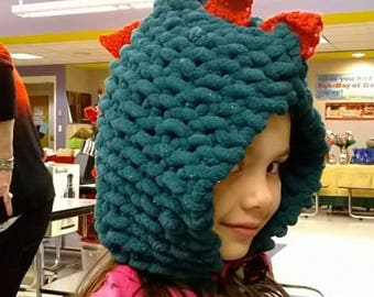 Dragon / Dinosaur young adult/children's hat