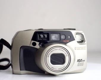 Pentax IQ Zoom 200 Autofocus Point and Shoot 35mm Film Camera