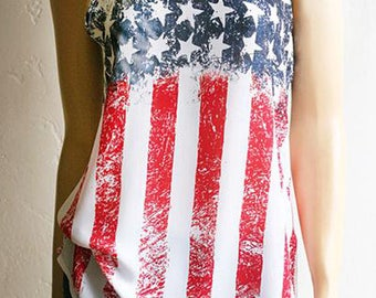 Festival Clothing. 4th of July Shirt. Flag Shirts. American Flag Clothing. American Flag Shirt. Red White and Blue. Country Music.