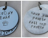 Have Your People Call My People Dog ID Tag