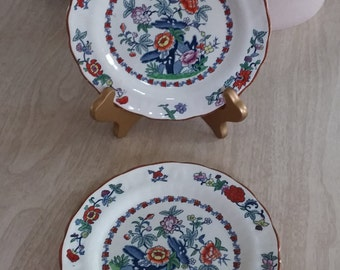 "Vintage Booths Silicon China ""Pompadour"" Dessert Plate/Bread Plate/Side Plate"