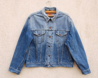Levi Strauss & Co Denim Jacket 70500 Size XL