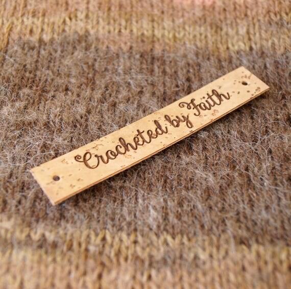 Cork Garment Labels Vegan Leather Labels Custom Clothing