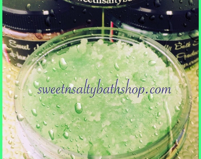 Honeydew Scented Sugar Scrub
