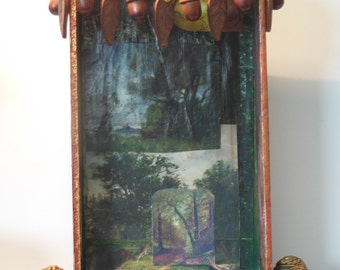 The Forest Path: Altered Cigar Box