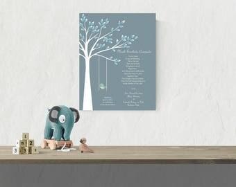 Baptism Gift For Godchild | Printable Christening Gift | Baptism Gift For Boy | Godson Poem  - 40777
