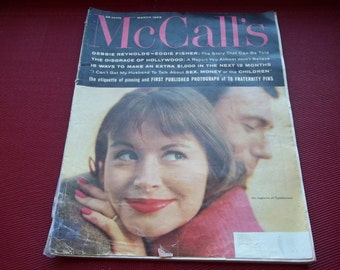 Vintage March 1959 McCall's Magazine