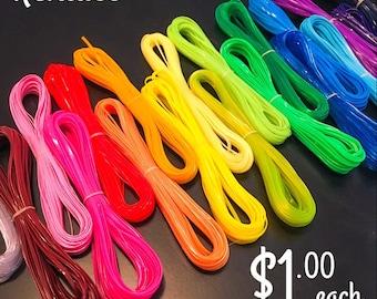 Rexlace Plastic Lanyard String - 10 yard skein