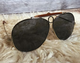 Vintage 70's aviator sunglasses