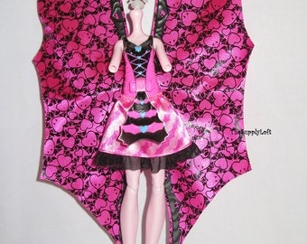Mattel Monster High Draculaura New Doll Body for Customization OOAK Repaint - Doll Art Supplies