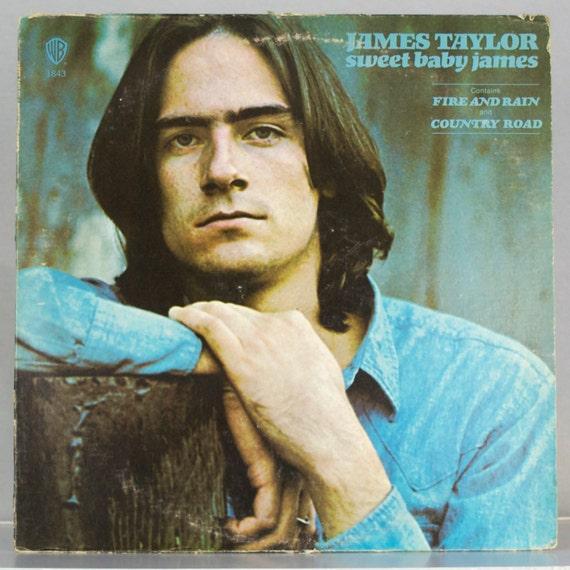 James Taylor - Sweet Baby James Album Warner Bros. Records 1970 Original Vintage Vinyl Rock Record