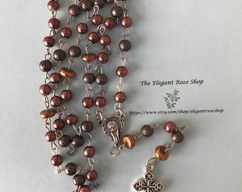 Beautiful Handmade Rosary