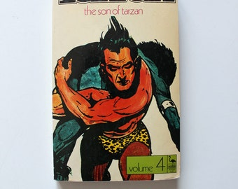CLEARANCE The Son of Tarzan Volume 4 By Edgar Rice Burroughs Paperback 1972