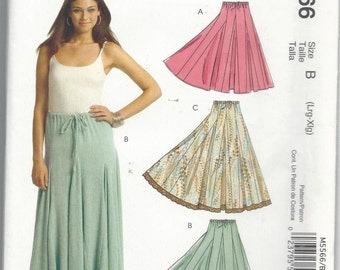 Stitch 'N Save 5566 Misses Skirt Size Large-Extra Large (16-22)