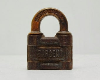 Antique Sargent Lock Etsy