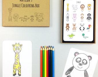 Jungle Colouring Box